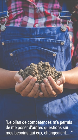 Témoignage de Céline, agricultrice